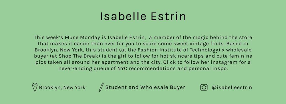 Lisa-Says-Gah-Muse-Monday-Isabelle-Estrin-Bio.png