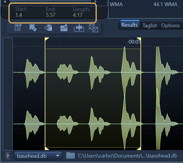 New Waveform with Length selection