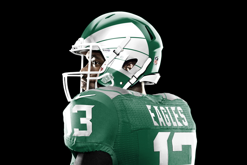 ANOTHER set of redesigned NFL jerseys some look really