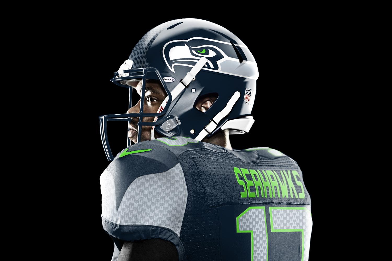 Seattle Seahawks Jesse Alkire