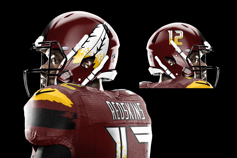 Redskins Helmet 2014 The Merged x115 Advent...