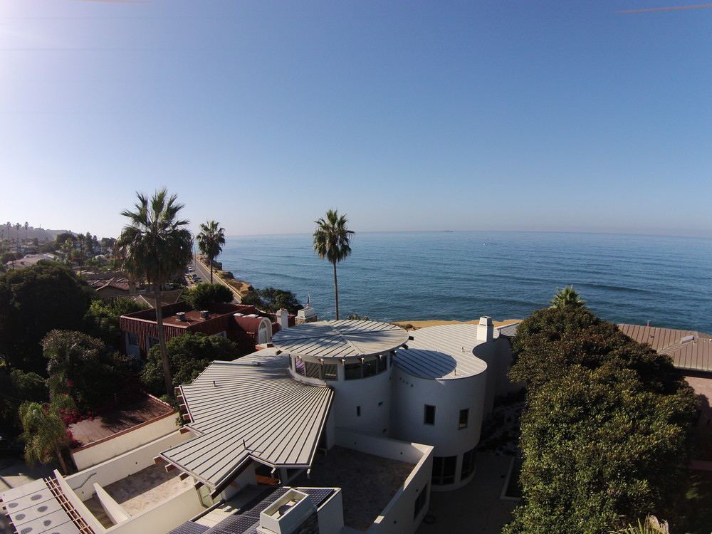 Sunset Cliffs Residence using the Phantom.