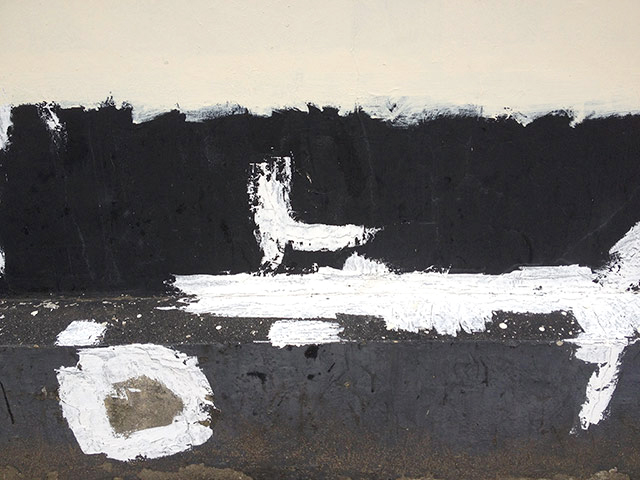 Prison Wall Abstract (A Man Escaped), 2012-13
