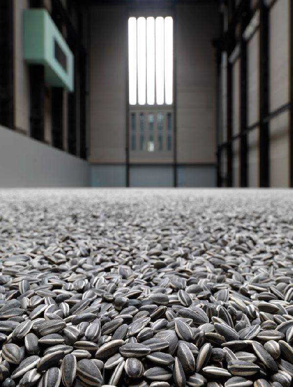 Sunflower Seeds by Ai Weiwei