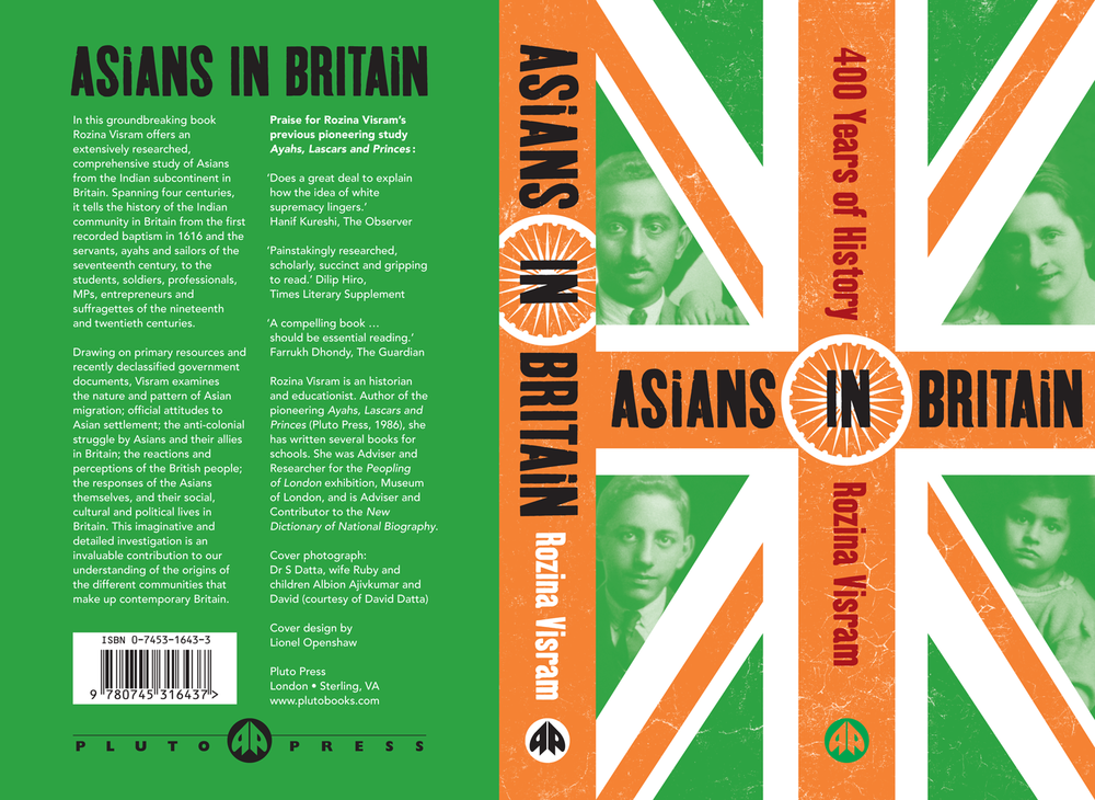 Asians in Britain book cover