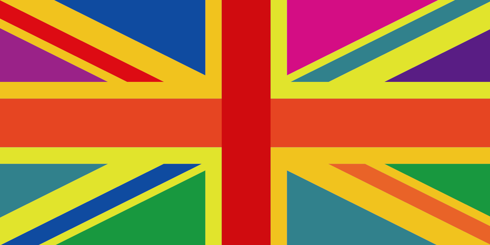 Multicoloured Union Jack