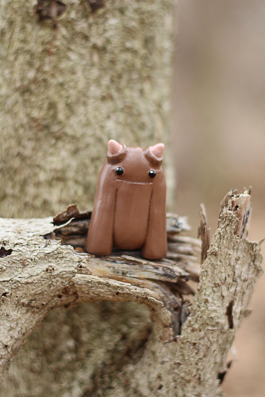 Arthur Jr. in a tree