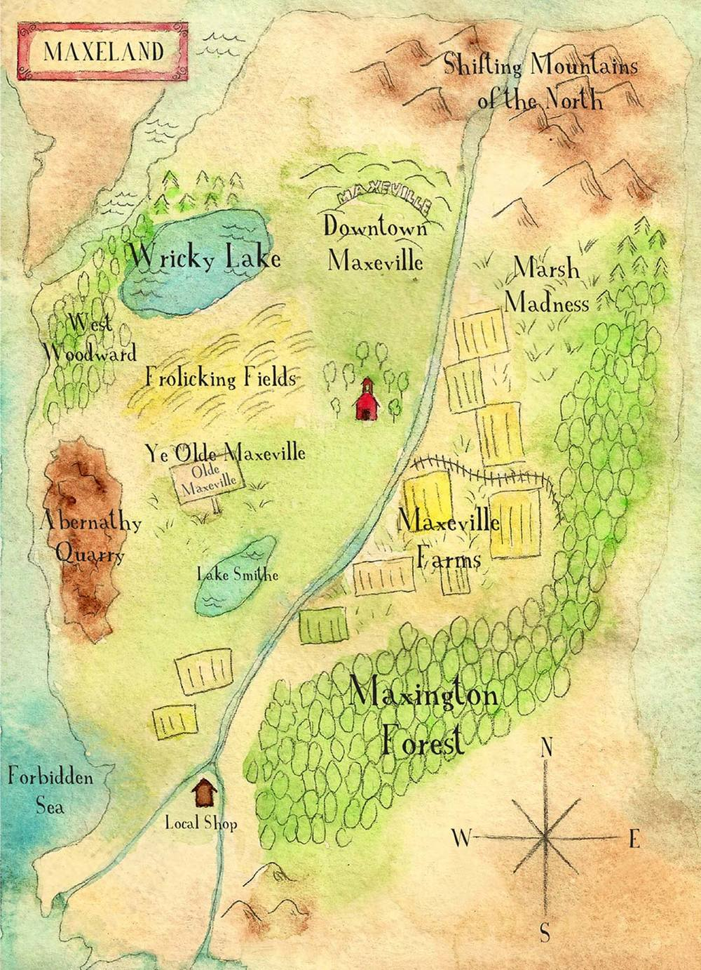 Original Maxeville Map