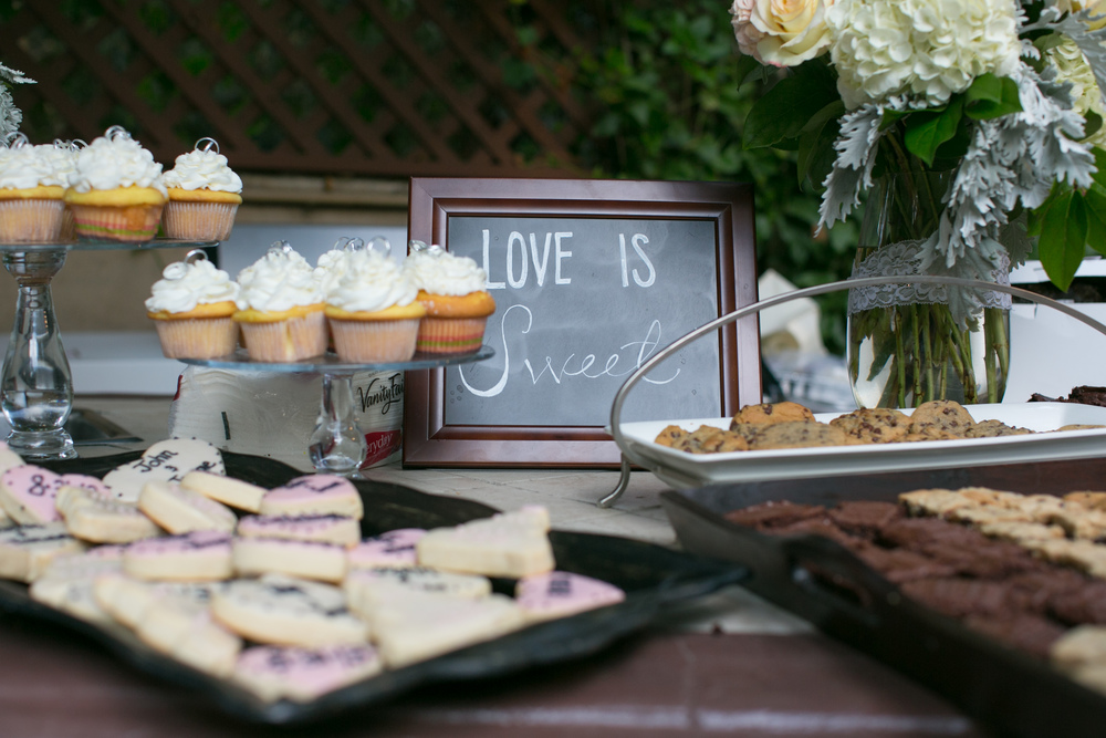 To Have & To Hold Weddings {dessert table} Love is sweet!
