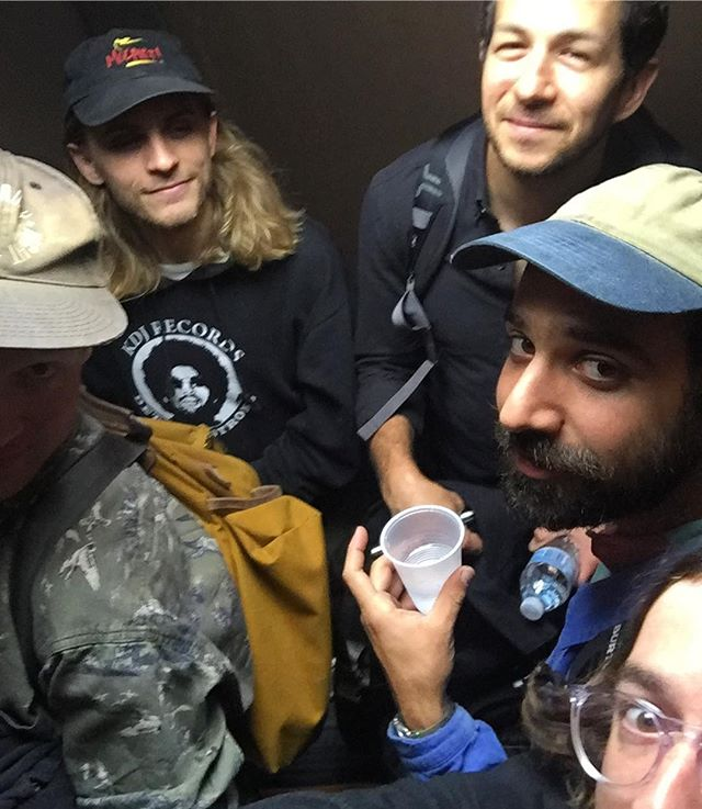 Thank you Columbus! We're stuck in this elevator now