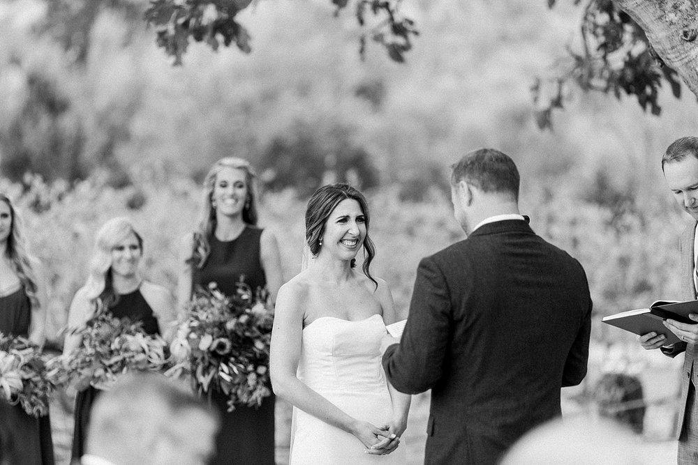 wedding at higuera ranch