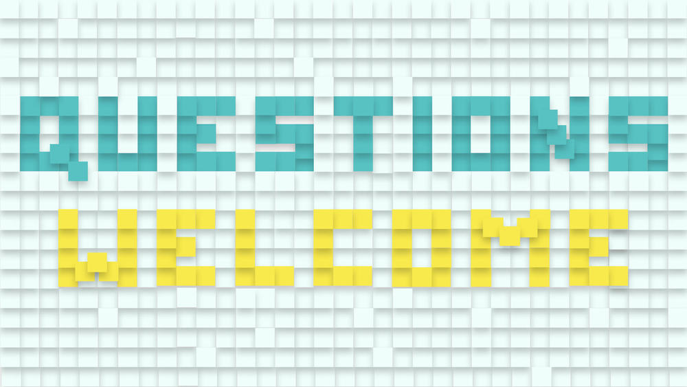 A series composed entirely of your questions