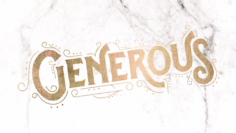 Are you generous? If not, you're missing out...