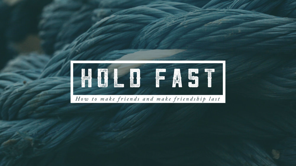 Hold Fast, Part 2: Follower Or Friend Sermon Podcast - Round Rock