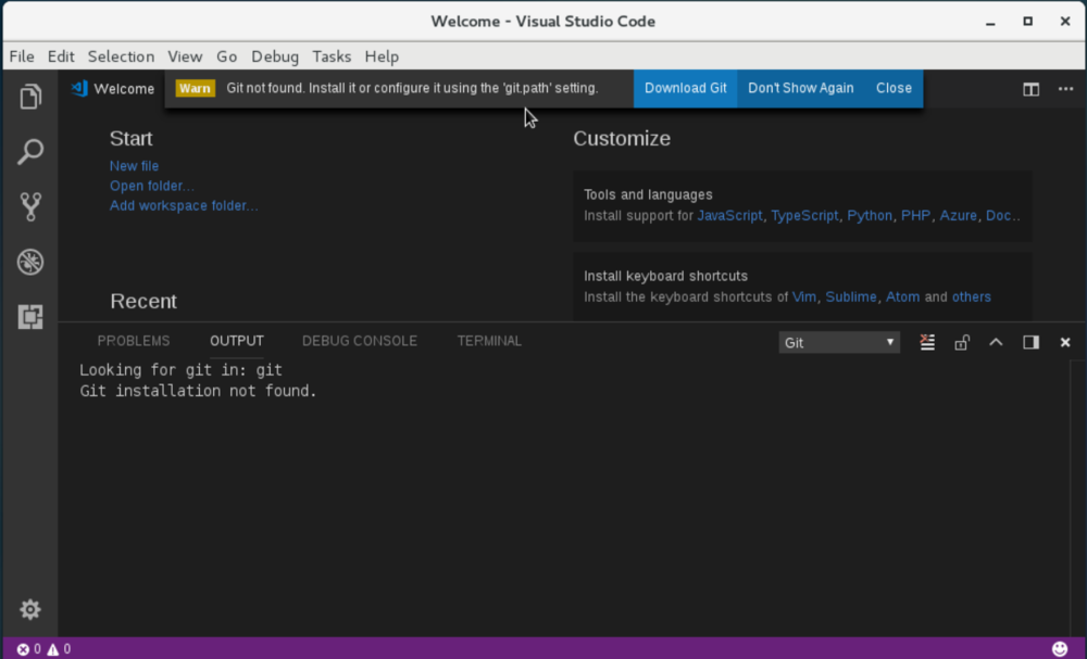 how to install vscode on centos
