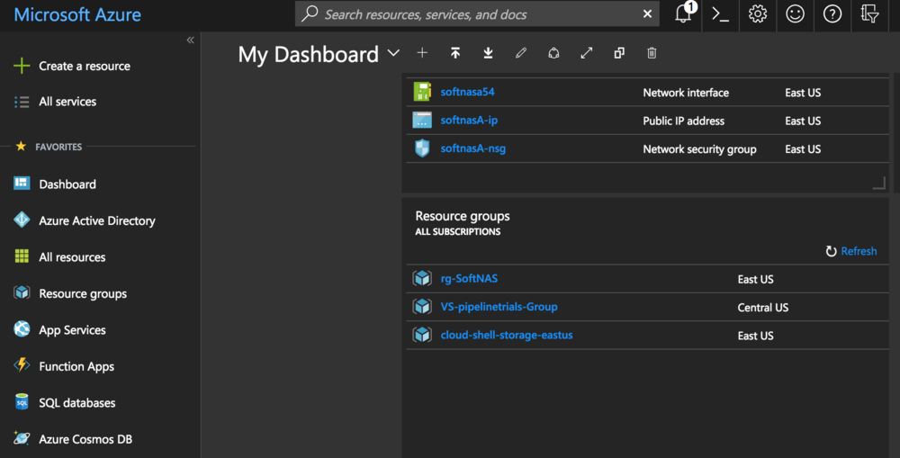 "Azure Desktop ""Dark"" theme"