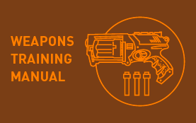 weapons training manual  spring 14 personal project // fun with toy guns