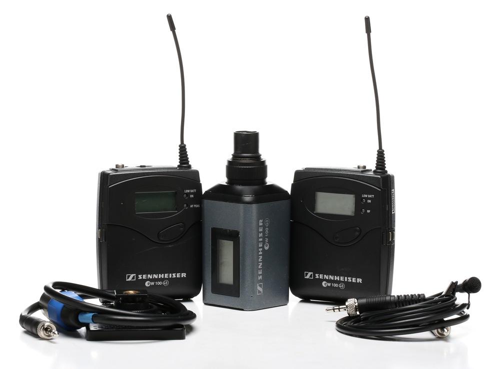 Senheisser G3 wireless mics