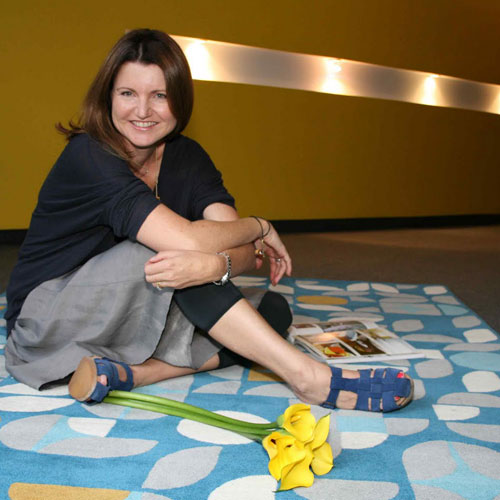 SEGMENTS rug by Suzanne Gorman