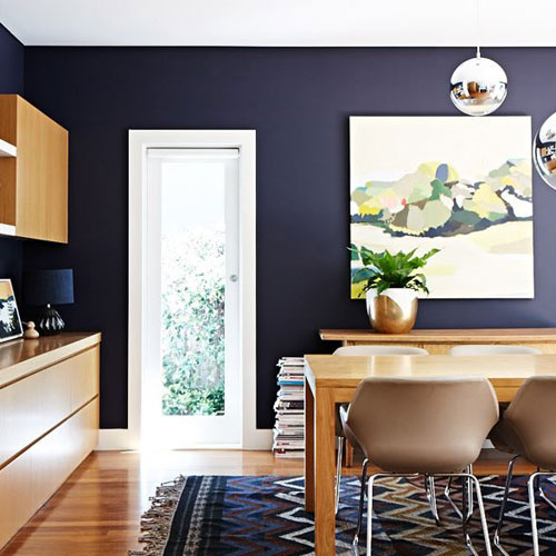 Dining room styled by Suzanne Gorman