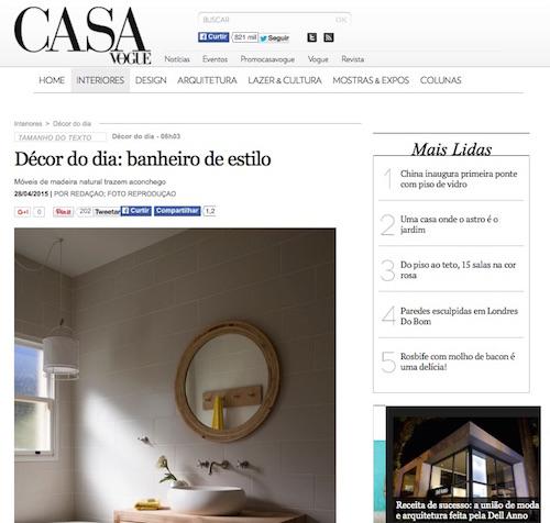 Casa Vogue 28/04/2015