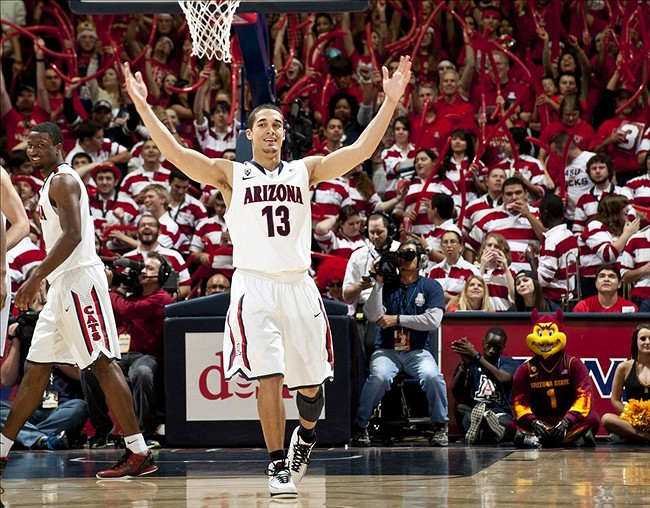Nick Johnson has been leading the Wildcats to an undefeated record, their best start in the past 15 years.  (AP Photo)