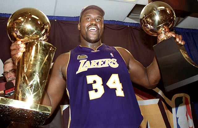 8. Shaquille O'Neal