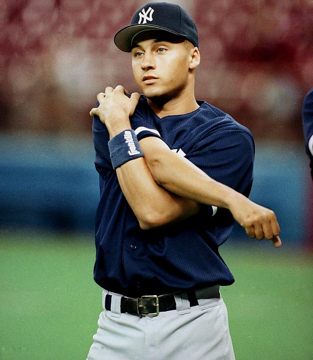 Derek Jeter has played 19 seasons in the MLB and 38 World Series games, most out of any current player. (Gary Stewart/AP)