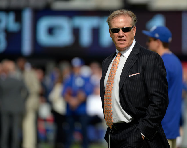 John Elway became the Broncos VP of Football Operation back in 2011 and in February he signed a 4 year extension that will also make him General Manger.