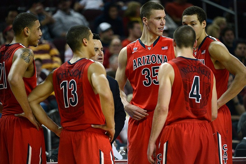 Arizona is the only #1 seed that didn't win their conference title. (Jayne Kamin-Oncea-USA TODAY Sports)