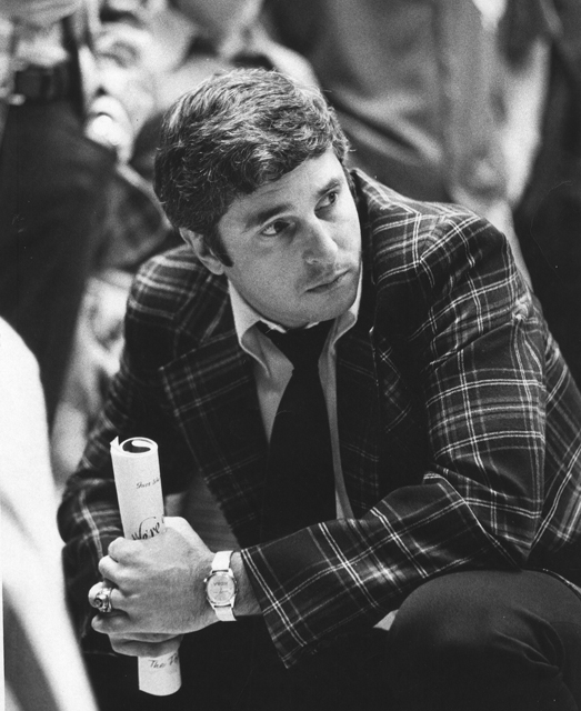 Bob Knight coached for 43 years, winning 902 games. He is most notable for his tenure at Indiana (1971-2000), winning 3 National Championships and going undefeated in 1976.