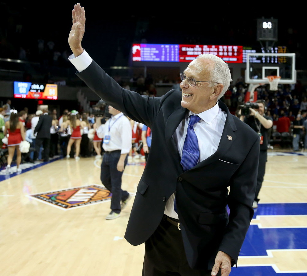 Larry Brown is the only coach to win both NBA and NCAA championships. He will now have the opportunity to add an NIT title to his resume. (Brad Loper/The Dallas Morning News)