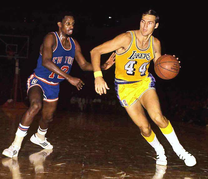 For years, the NBA logo has been thought to be the silhouette of Jerry West, even though the NBA strongly  denies it. The NBA created their logo in 1969, West 9th season in the league, and still to this day he receives no royalties. (LakerNation.com)