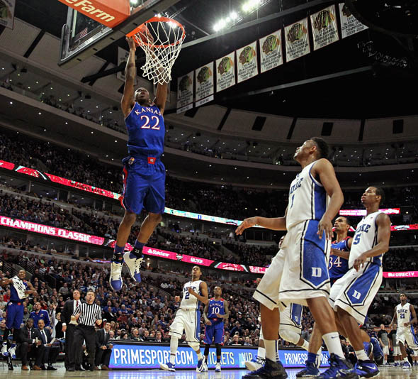 Wiggins was the #1 player in the 2013 recruiting class, will he be the #1 pick in the 2014 NBA Draft? (Jonathan Daniel/Getty Images)