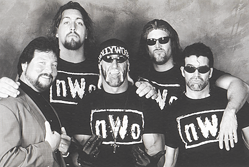 The NWO was without question the greatest faction ever in the history of Wrestling. You can compare their dominant run to likes of the 4 Horsemen, who they had great battles with at WCW. They also were detrimental to the WCW, having people believe it was corrupted because of their power and relationship with Eric Bischoff.