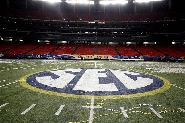 Even though the SEC creates a ton of money, players receive none of it. (Derick E. Hingle-USA TODAY Sports)