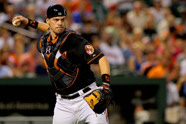 Matt Wieters has been on fire so far this season, batting .331 with 5 homers and 18 RBIs in 23 games. ((Baltimoresportsreport.com)