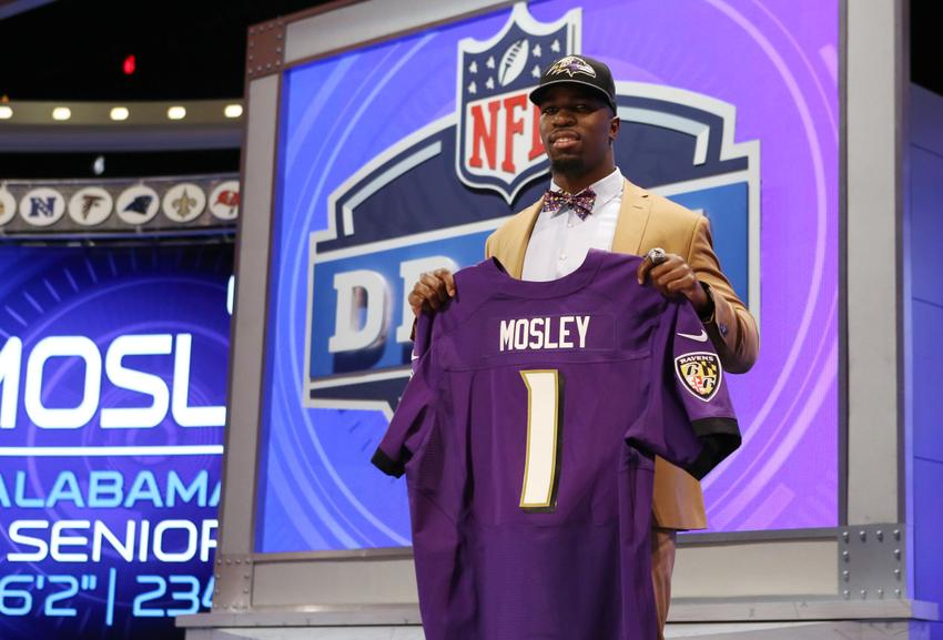 Mosley is the first middle linebacker the Ravens drafted in the 1st round since Ray Lewis, that says alot. (Adam Hunger-USA TODAY Sports)