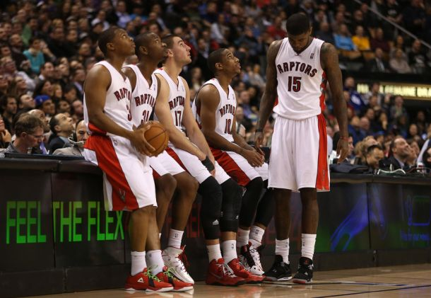 The Raptors have a great young nucleus that could take the league by storm in the near future. (AP Photo)