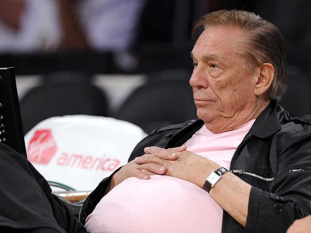 Donald Sterling became the longest tenured owner in the NBA after the late Jerry Buss passed in 2013. His 33 years tenure will now come to an embarrassing end. (AP)