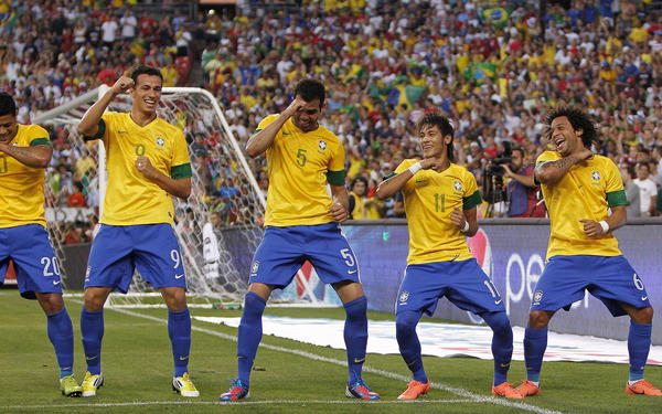 The host squad of Brazil received an automatic bid but they might have not needed it. Brazil is the only nation to have played in every World Cup tournament since 1930. They have been the last team standing 5 times, last Cup victory coming in 2002. (AP Photo)