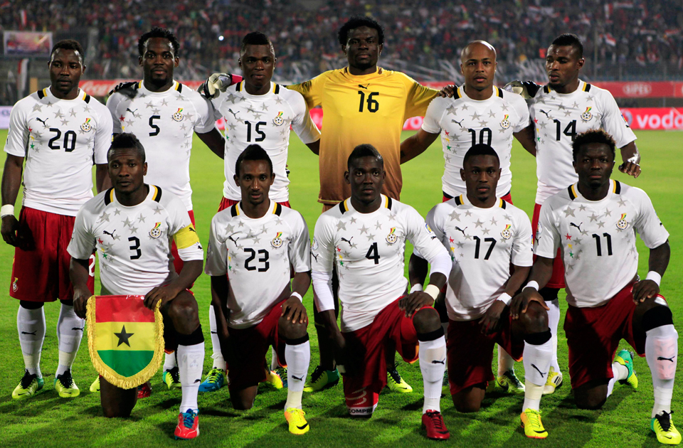 Ghana, like Ecuador, has only appeared in the Cup twice but they have been more successful.