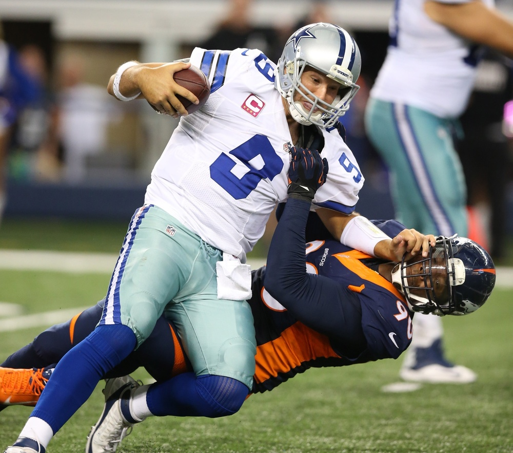 Romo has been a blunder in the 4th quarter throughout his career but he has 20 4th quarter comebacks and 23 game winning drives in his career. (AP Photo)