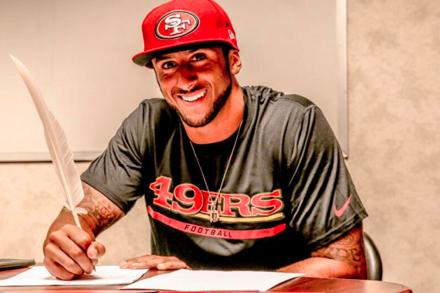 Kap's new deal may have broke the bank in theory, but in reality, it may have changed the game for future contract situations. (AP Photo)