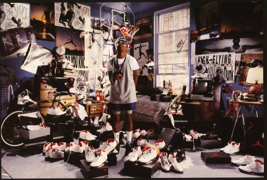 This picture of Mars Blackmon back in 1990  was showing people what the future would look like, Mars being the first known HypeBeast. What's a HypeBeast? A HypeBeast is simply a person who will do anything for the hottest shoes and will pay any amount for them. They only go for the hottest shoe, if it's not hot, they don't want it.