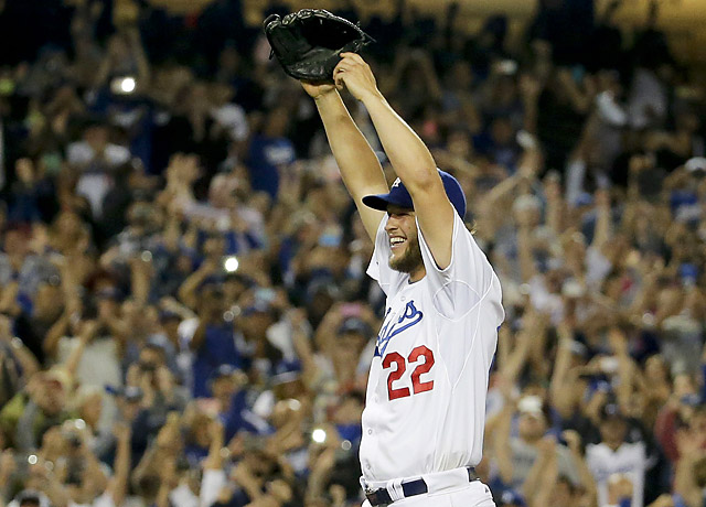 Clayton Kershaw became the 2nd pitcher this season to throw a no-hitter. The first was his teammate Josh Beckett 1 month ago against the Phillies. (AP Photo)