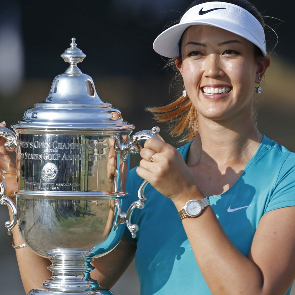 Michelle Wie won this year's Women's US Open. (Getty Images)