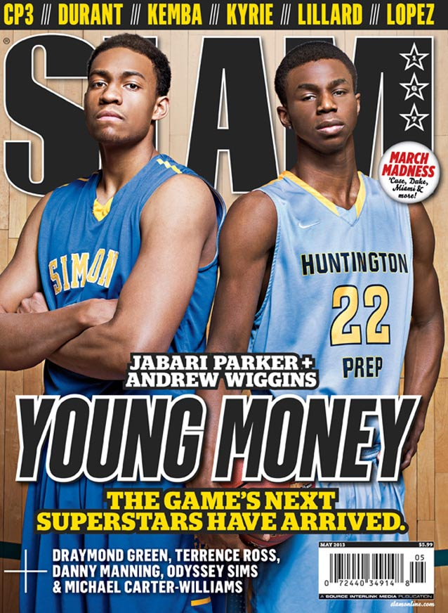 Could these two be the next big superstars of the NBA? I see a rivalry in the making. (SLAM Magazine)