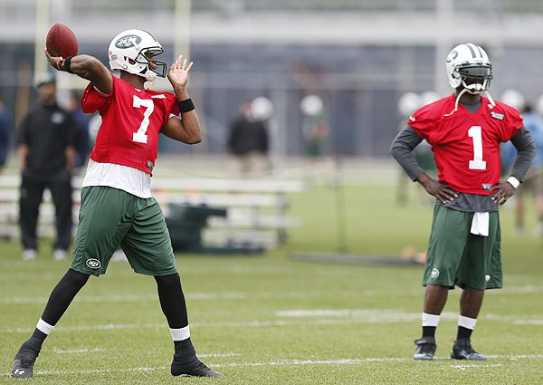 Just in case some of you don't know, Michael Vick will now be wearing #1 being that #7 is already in use.  (AP Photo)