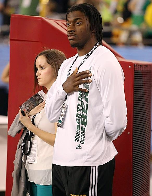 Without question, RG3 is the most important player in head coach Art Briles 7-year tenure at Baylor, helping building it into a BIG 12 power. (Bruce Yeung/Yeung Photography)